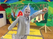 Our Tin Man wanted to know what love is - and found out!
