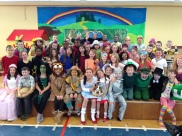 Our entire cast - well done to them all!