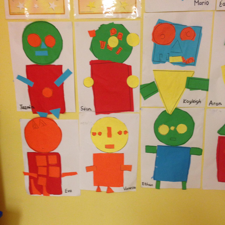 2d shape monsters  u2013 st  dominic u2019s national school